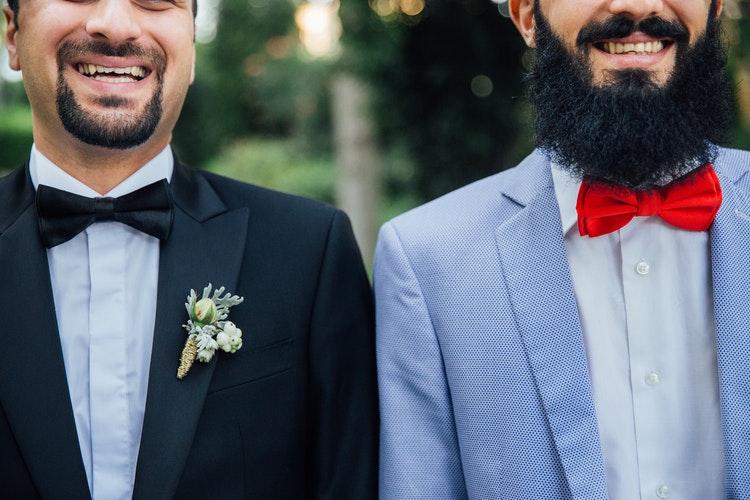 Beards for a Wedding