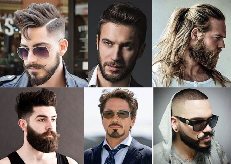 Brilliant Hairstyles And Beard Two Elements Of A Unique Style Styles For Men Natural Hairstyles Runnerswayorg