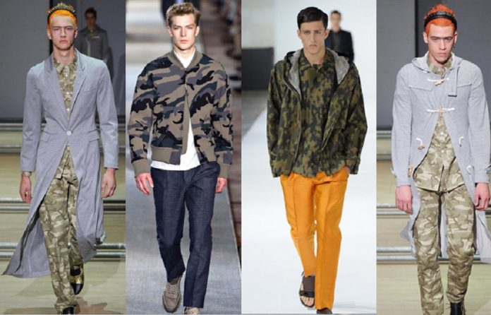 Men's Military Clothing Fashion